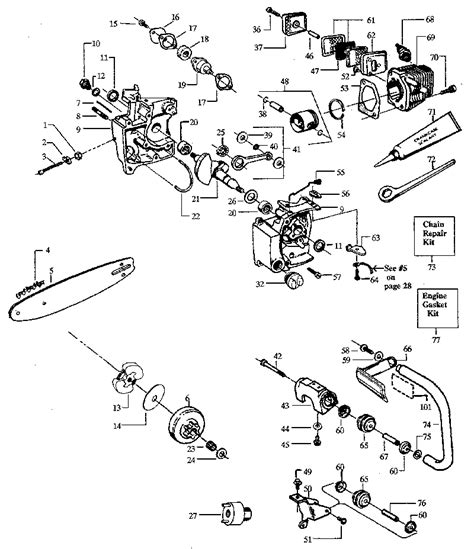 stihl 020t parts diagram stihl chainsaw parts diagram