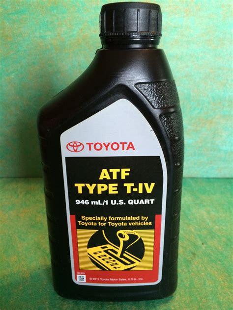 Toyota Atf Type T Iv Toyota Atf Type T Iv 00279 000t4 1 Qt