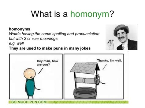 Four Plays Three Jokes puns homophones and homonyms
