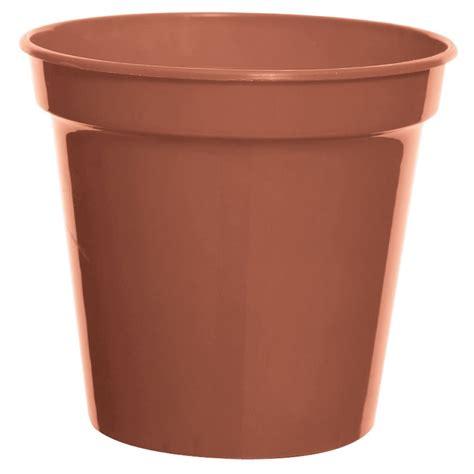 wilko  pack terracotta plastic plant pot cm wilko
