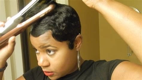 recommmeded relaxers for short hair short relaxed hair tutorial how i style my short cut