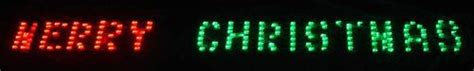 32 inch red and green led merry christmas sign 39 99 44 99 80 quot x 6 quot merry led lighted banner green chasing lights