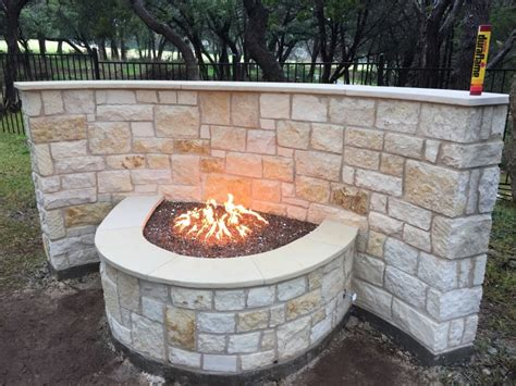 build pit limestone ember pits and features ember
