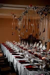halloween wedding decorations 41 spooky but elegant halloween wedding table settings