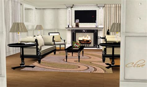 living room ideas sims 3 shinokcr s clive livingroom