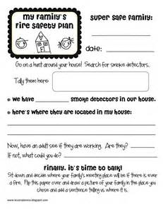 family safety plan template safety homwk pdf school age activities