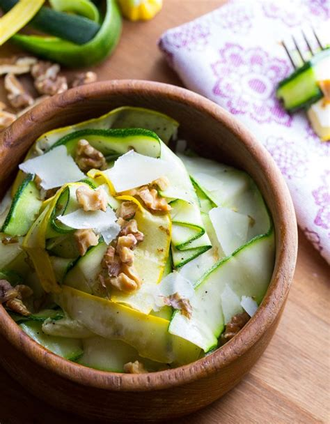 Inspired Side Salad With Zucchini Pecorino by Best 25 Zucchini Ribbons Ideas On Lasagna