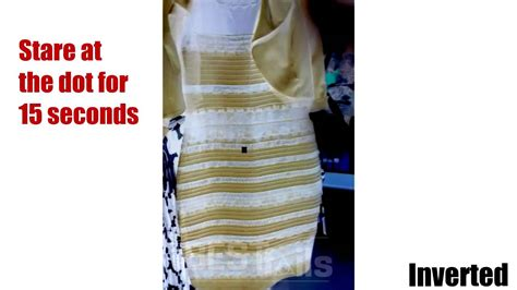 what is this color warning scary the black blue white yellow dress