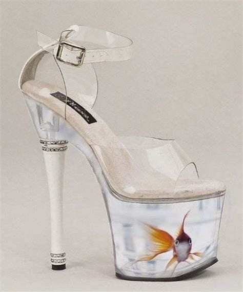 amazing high heel shoes amazing high heels shoes with fish in them fashionate trends