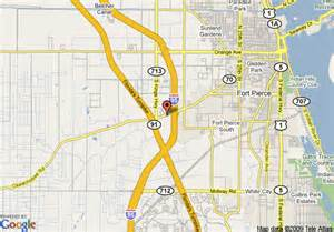 Fort Pierce Florida Map by Map Of Comfort Suites Fort Pierce Fort Pierce