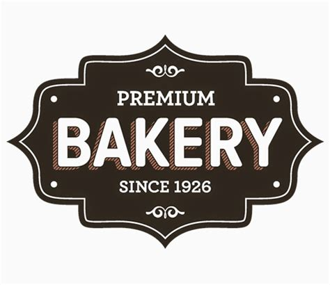 free bakery logo templates free set of vector bakery logos and label