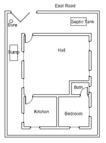 House Plans As Per Vastu East Facing Vastu House Plan For An East Facing Plot 3 Vasthurengan