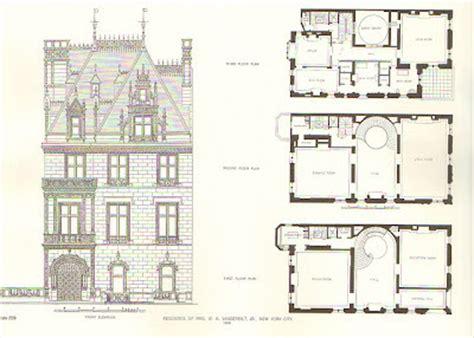 vanderbilt commons floor plans the gilded age era a view of willie vanderbilt jr s new york city chateau