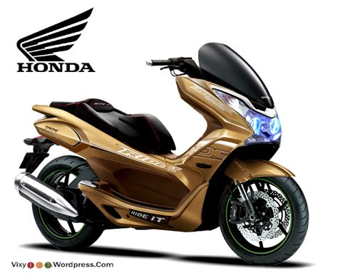 Pcx 2018 Gold by Honda Pcx 125 Pcx 150 Modifikasi Pcx Beat Vario Vixy182