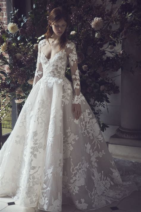lhuillier bridal wedding dress collection fall 2019 brides