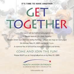 gettogether invitation