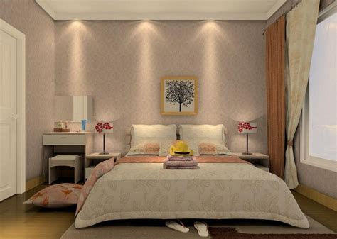 pop bedroom design in 3d