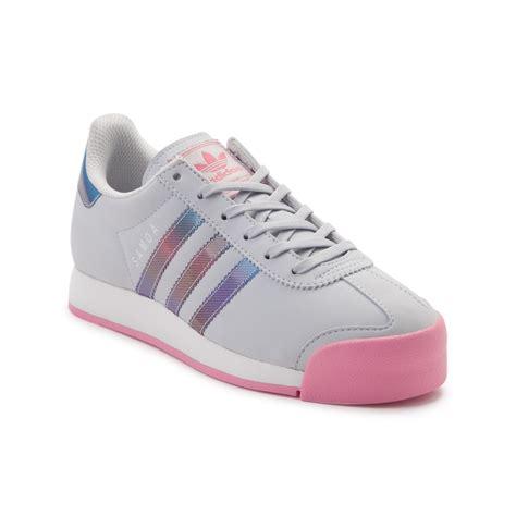 youth athletic shoes youth adidas samoa athletic shoe gray 1436296