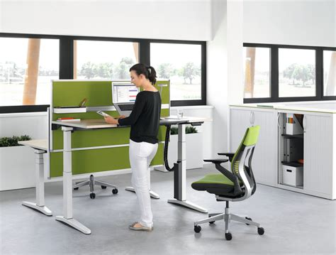 Steelcase Office Furniture Dealers Cms Cambridge Stand Up Desk Office