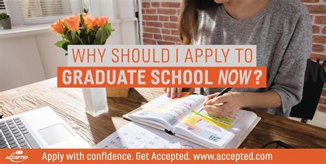 Why Should I Get An Executive Mba by Why Should I Apply To Graduate School Now Accepted