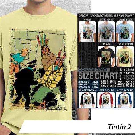 Kaos Tintin 1 Oceanseven valcons siapa tahu ada yang berminat d