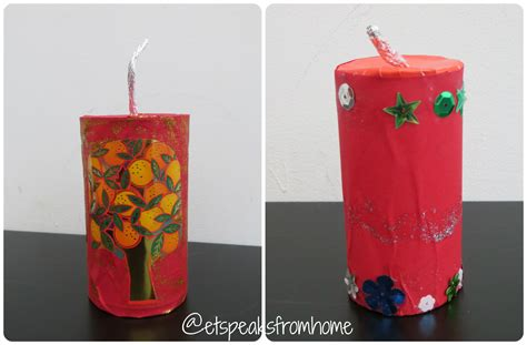 How To Make A Paper Firecracker - how to make new year firecracker et speaks from home