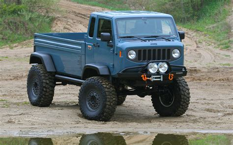 jeep prototype truck 2015 concept jeeps backcountry post