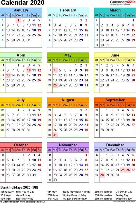 calendar printable uk calendar