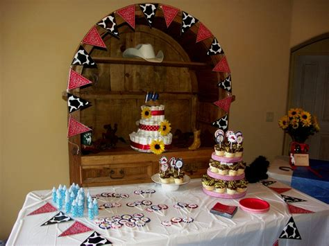 Cowboy Themed Baby Shower Ideas by Cowboy Themed Baby Shower Baby Shower Ideas