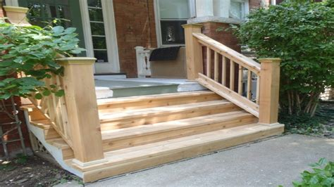 Wooden Front Stairs Design Ideas Small Front Porch Plans Exterior Wood Front Steps Railing Exterior Wooden Step Designs