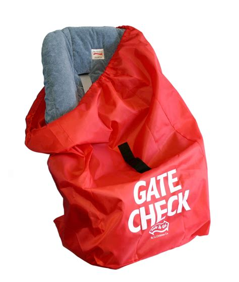 gate for car j l childress gate check air travel bag for car seats ca baby