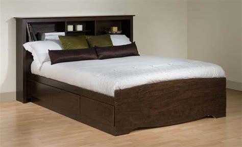 prepac storage bed prepac manhattan bedroom collection double platform 6 drawer storage bed espresso ebd 5600