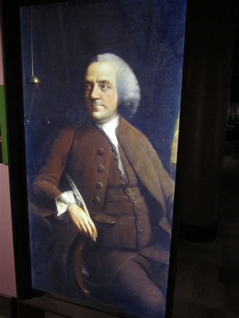 benjamin franklin biography part 2 realistic portrait of what franklin looked like at age 56