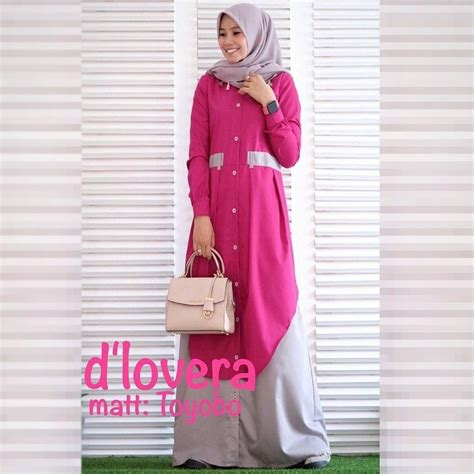 Nabila Dress by Jual Baju Gamis Modern Nabila Dress Murah Muslimodis