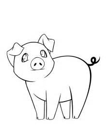 printable pig coloring pages coloring