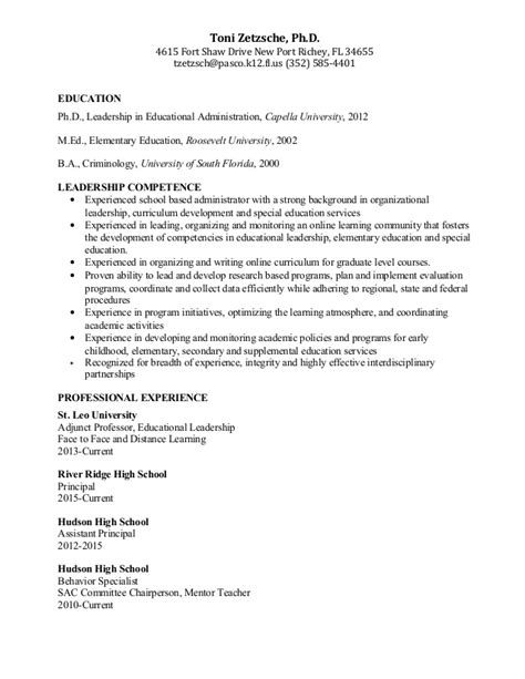 Cover Letter For Geography Assistant Principal Resume Assistant School Principal Resume Or Cv Sle Aka Vice Assistant