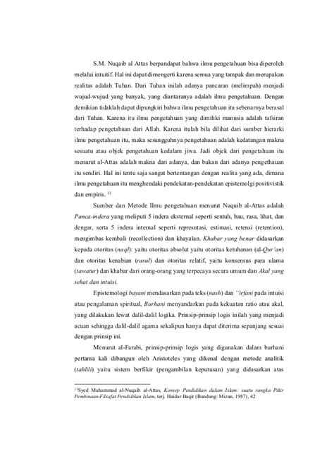 Ilmu Pengetahuan islam dan ilmu pengetahuan