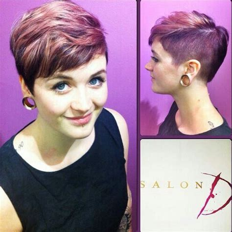 recorte mediano p short rose coloured haircut beauty pinterest