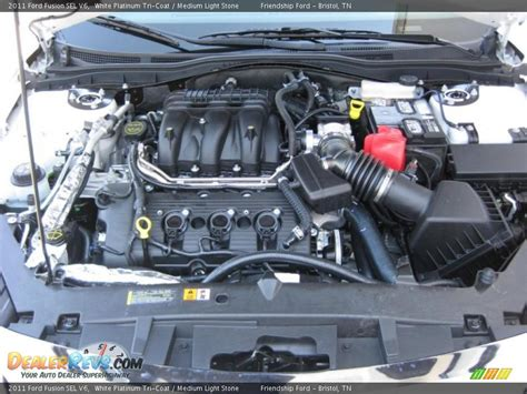 2011 Ford Fusion Engine by 2011 Ford Fusion Sel V6 3 0 Liter Dohc 24 Valve Vvt