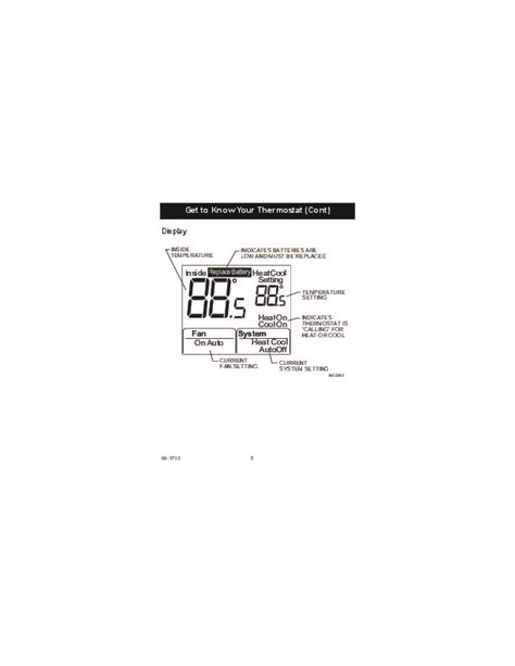 honeywell thd  programmable thermostat operating instructions