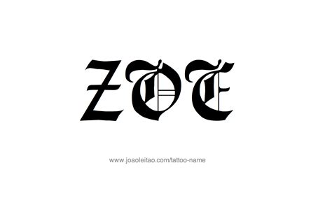 zoe tattoo designs zoe name www imgkid the image kid has it