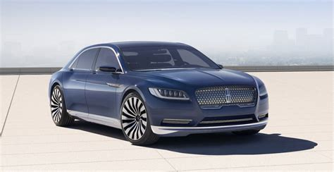 lincoln new cars new lincoln continental coming in 2016 official