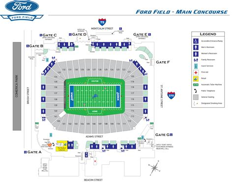 ford field directions detroit lions upcomingcarshq