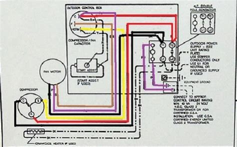 ac unit wiring diagram fuse box and wiring diagram