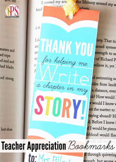 Printable Bookmarks For Teacher Appreciation | teacher bookmarks with quotes quotesgram