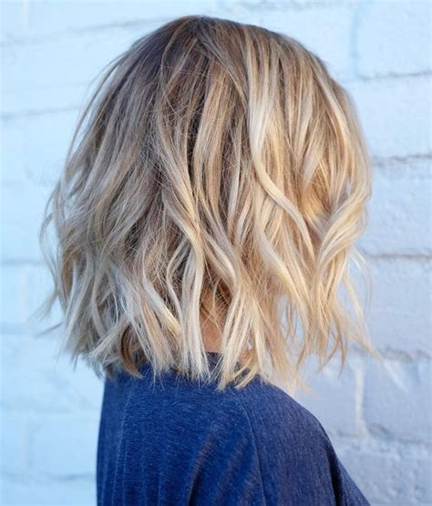 layered beachy medium length haircut 32 pretty medium length hairstyles 2017 hottest shoulder
