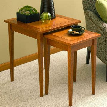 Woodworking Plans End Table