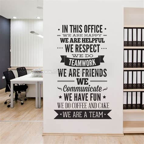 Jual Kemeja Burberry Beige Lp Mirror Quality in this office typography sticker moonwallstickers