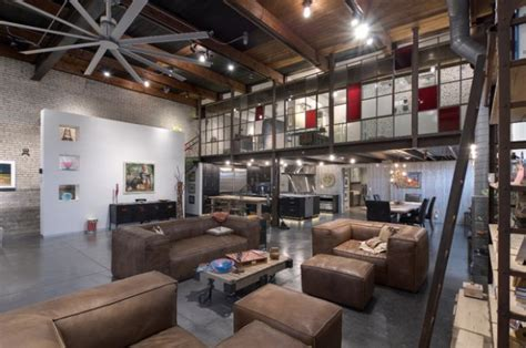 19 urban living room design ideas in industrial style style motivation