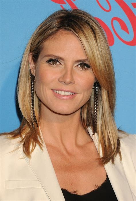 heidi klum long hairstyles 2014 ponytail without bangs pretty 26 popular long hairstyles for winter 2014 2015 pretty